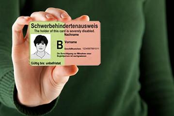 Bild für Schwerbehindertenausweis