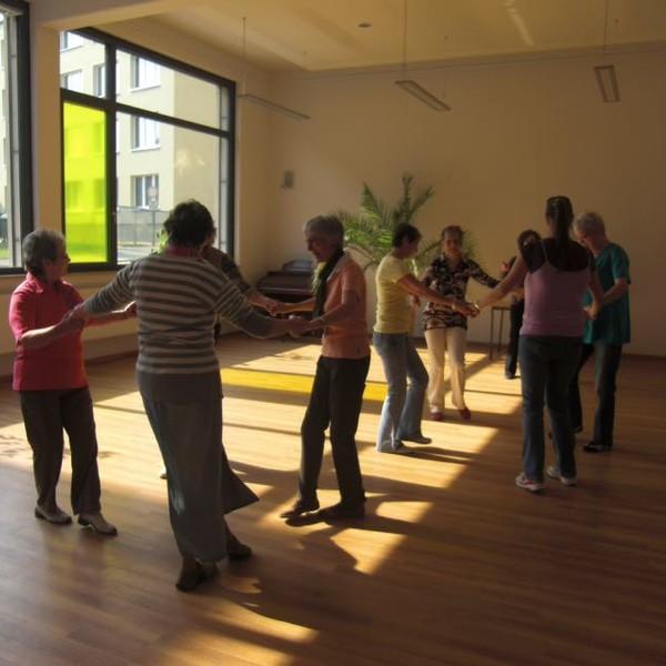 Beim Tanzen
